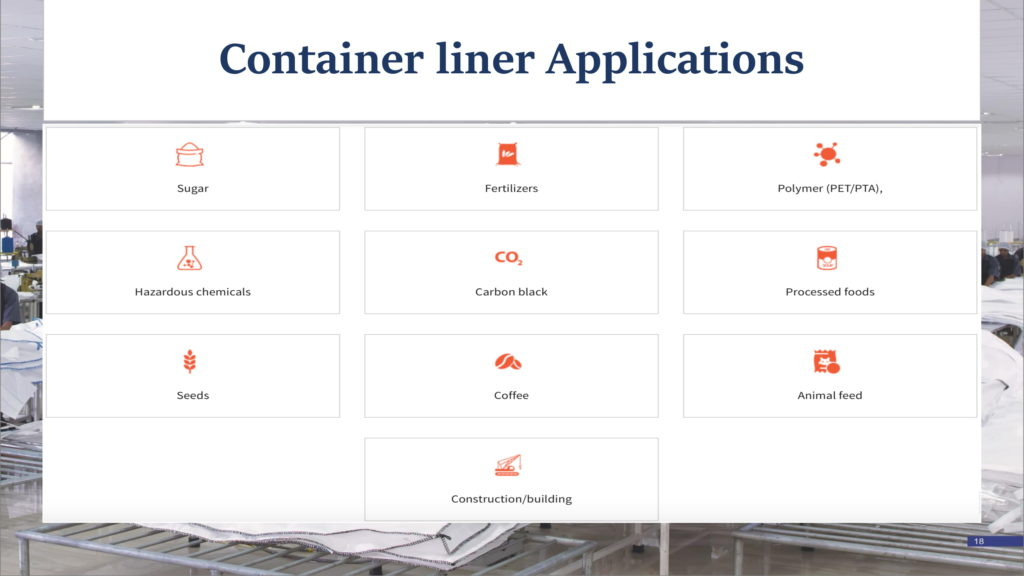 container liner applications